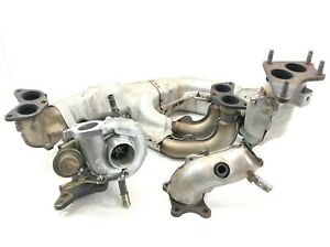 Jdm Turbo Subaru Legacy Gt Vf38 Twin Scroll Manifold Wrx Turbo Down Pipe