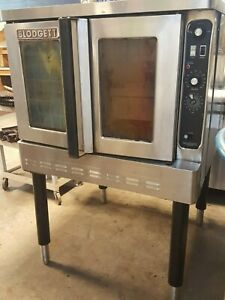 Natural Gas Blodgett Convection Oven Commercial Bakery Tested Warranty