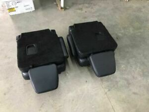 15 16 17 Ford Expedition Rear Second 2nd Row Black Leather Bucket Seats 130966
