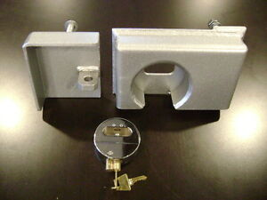 Lot Of 8 Hd Bolt On Shipping Container Security Lock Box Template W Free Lock