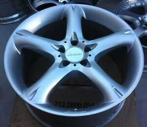 Lorinser Rs 1pc 19 X 9 Et 38 5 112 Silver One Wheel Only Made In Germany