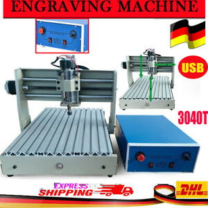 3 Axis Usb 3040 Cnc Router Engraver Engraving Milling Machine 3d Drilling Cutter