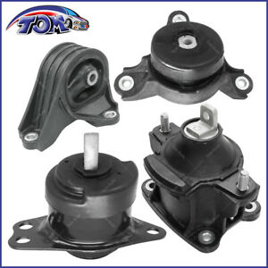 New Transmission Engine Motor Mounts Set For 13 16 Honda Accord 2 4l At Trans