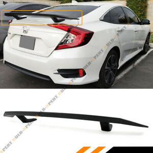 Si Style Rear Trunk Spoiler Wing For 2016 2020 10th Gen Honda Civic Sedan Coupe