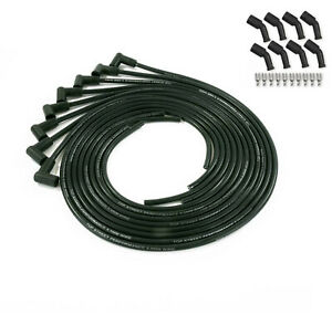Spark Plug Wires Black Cut To Length 90 Boot Chevy Ls Coil Pack 5 3l 6 0l 1 2 6