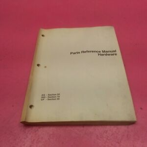 John Deere Parts Reference Manual Hardware P108 4 86 lt386