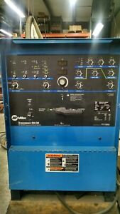 Miller Syncrowave 250 Dx 230 460 575 V Welder 903726 Very Low Hours