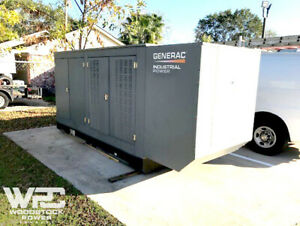 Used 250 Kw Generac Sg250 Natural Gas Generator