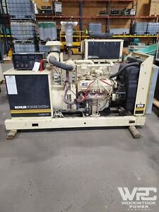 Used 100 Kw Kohler 100100rz282 Natural Gas Generator
