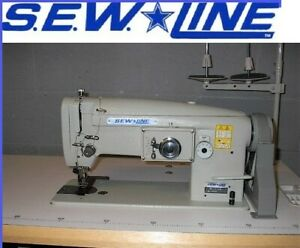 Sewline Sl 1146 Walking Foot Zig Zag Reverse Big Bob Industrial Sewing Machine