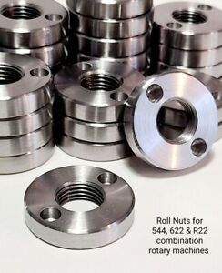 Roll Nuts For 544 622 Pexto Roper Whitney Rotary Machines