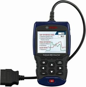Bosch 1350 Prograde Scan Tool Obd2 Abs Airbag Srs Live Data Battery Oil Reset