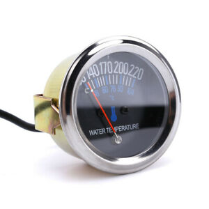 Universal 52mm Car Auto Water Temperature Temp Gauge Meter Dc 12v Accessories