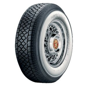 Super Cushion Classic 3 1 4 Wide Whitewall Radial Tire P235 75r15 Goodyear