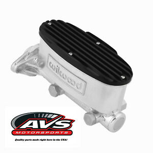 Custom Finned Wilwood Tandem Master Cylinder Cover Avs Motorsports