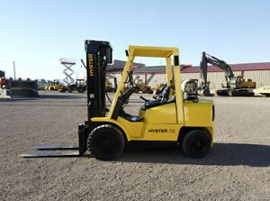 Hyster H70xm Forklift Hours 5 557
