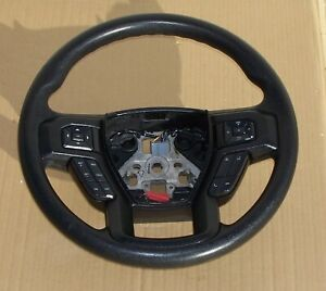 2015 2018 Ford F150 Steering Wheel With Switches Oem Ebony