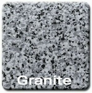 20 Lbs 1 4 Decorative Color Flake Chips For Epoxy Floor Coating granite
