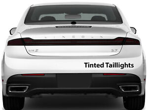 Lincoln Mkz 2013 2020 Taillight Stop Lamp Side Marker Tint W air Release Matl