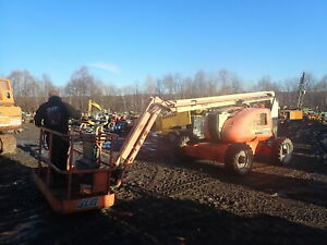 2010 Jlg 600aj Boom Lift Articulating 60 Deutz Diesel Low Hrs Manlift