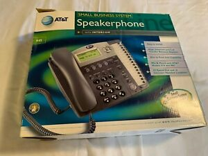 At t Small Business System Speakerphone With Intercom
