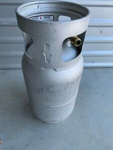 Aluminum Propane Forklift Tank 33 5 Lb Wc 80 0lb Re certified Stamped 04 19