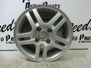 00 04 Ford Focus 15 Alloy Wheel 5 Double Spoke 4 Lug With Out Center Cap 03366