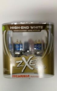 Sylvania Silverstar Zxe Gold High End White 9006 New Xenon Charged