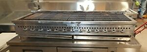13 Burners Heavy Duty Vulcan 72 Char broiler Radiant Grill Natural Gas Used