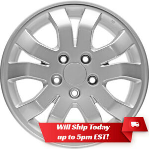 New Set 4 16 Replacement Alloy Wheels And Centers For 2005 2008 Honda Crv Cr v