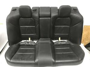 2009 Acura Tl 2nd Row Rear Seat Assembly Black Leather free Shipping