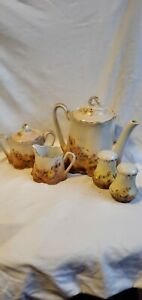 Antique Hommel Porcelain Tea Set