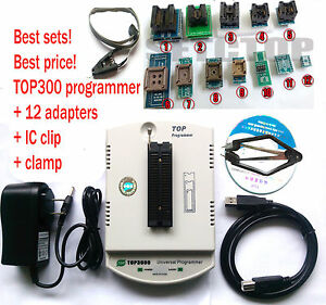 Factory Wholesale Top3000 Usb Universal Programmer 12 Adapter Ic Clip clamp