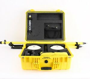 Trimble Dual R8 Model 3 Gps gnss Receiver Kit W Tsc3 Data Collector