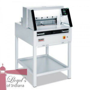 Mbm Triumph 5260 Programmable 20 3 8 Paper Cutter With Vrcut
