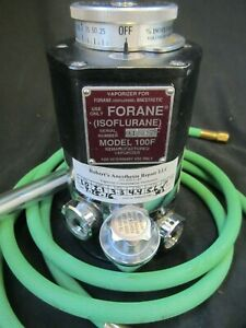 Isoflurane Anesthesia Vaporizer Model 100f Veterinary Use
