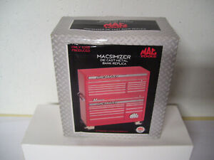 New Mac Tools Macsimizer Die Cast Metal Bank Replica 1 12 Scale Limited Edition