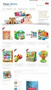 Baby Products Store Amazon Affiliate dropship Website On Autopilot Free Host