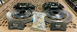 2005 2014 Ford Mustang Brembo Gran Turismo 14 Brake Kit Front 1b2 8046a
