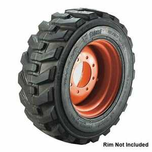 One New Bobcat 23x8 50 12 Hd Skid Loader 6 Ply Tire With Rim Guard R 4 Free Ship