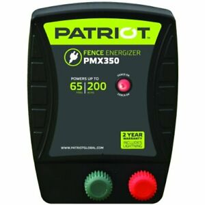 Patriot Pmx350 Electric Fence Energizer 3 5 Joule