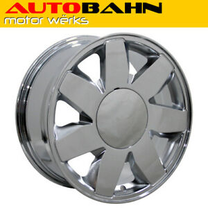 17x7 5 Chrome Dts Style Wheel 17 Rim Fits Cadillac Deville Sts Cts Ats Whs001