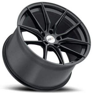 4 19 20 Staggered Cray Wheels Spider Matte Black Rims Fit Corvette B4