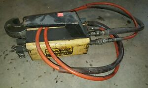 Fairmont Dynapress H6710b Hydraulic Intensifier W hose And Crimper 10 000 Psi
