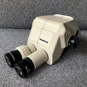 Olympus Sz30 Sz3060 Stereo Zoom Microscope With Gswh20x 12 5 Eyepieces