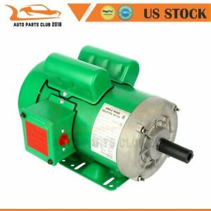 Agricultural Electric Motor 2 Hp 145t Frame 1725 Rpm 4 Pole Single Phase Cw ccw