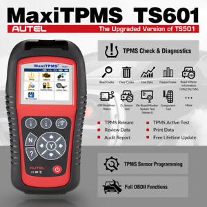 Autel Ts601 Tpms Diagnostic Tool Car Obd2 Engine Code Reader For Gm Ford Vw Audi