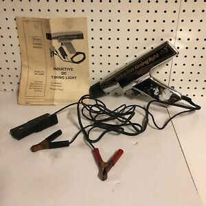 Vtg Sears Craftsman Inductive Timing Light Model 244 213801 W Cables Manual
