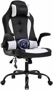 Massage Office Chair Comfortable Pc Gaming Chair Computer Chair Pu Leather Chair