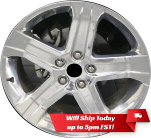 New Polished 22 Replacement Wheel Rim For 2011 2018 Dodge Ram 1500 2388 2457